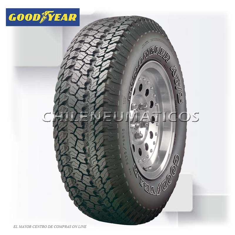 NEUMATICOS GOODYEAR 31x10.50 R15 109S WRANGLER AT/S